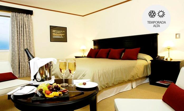El Calafate: desde $1699 por 2, 3, 4, 5 o 7 noches para dos + desayuno buffet + sauna + ducha escocesa en Hotel Edenia