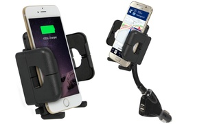 Xtreme Goose Neck Car Mount Charger