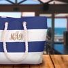 Up to 73% Off Personalized Water-Resistant Beach Tote