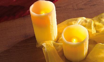 1 o 2 velas LED Pearl