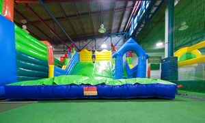 Salisbury Super Sports - JumpIn4Fun: Entry for Adult and Child Under ($5) or Over ($15) 5 Years of Age or Family Pass ($40) to JumpIn4Fun (Up to $57.6 Value)