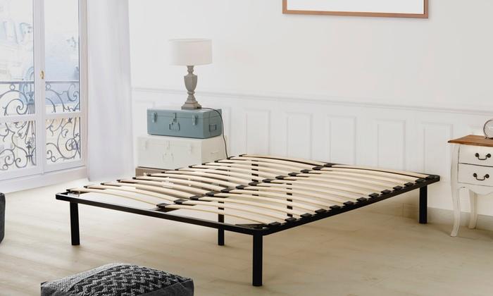 promo sommier lattes groupon. Black Bedroom Furniture Sets. Home Design Ideas