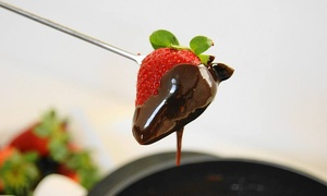 The Mona Lisa Fondue Restaurant: Three-Course  Dinner or Cheese Fondue and Wine for Two at The Mona Lisa Fondue Restaurant (Up to 44% Off)