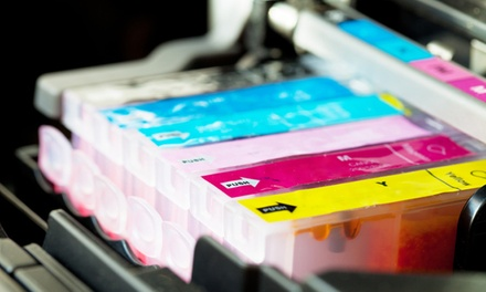 Set de cartouches compatibles Epson, Canon, HP, Brother ou Lexmark