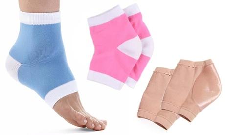 1, 2 o 3 pares de calcetines hidratantes para talones, disponibles en diferentes colores