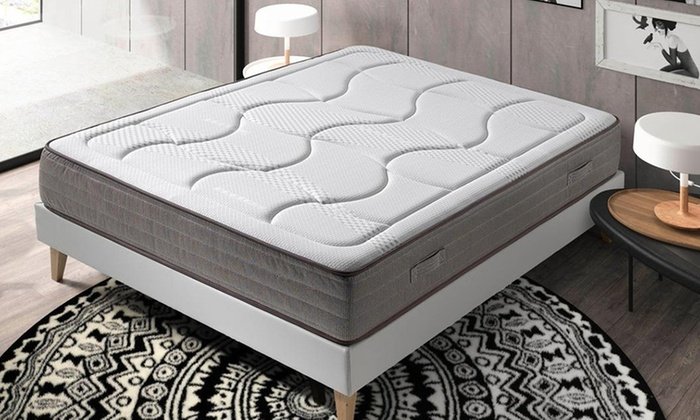 matelas born o m moire de forme groupon shopping. Black Bedroom Furniture Sets. Home Design Ideas