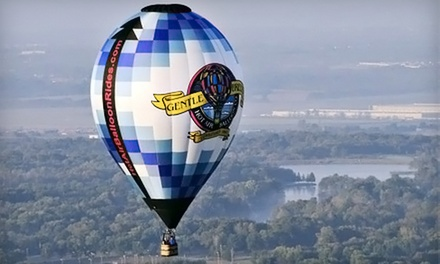 Shared Hot Air Balloon Ride for One or Two at Gentle Breeze Hot Air Balloon (Up to 48% Off)