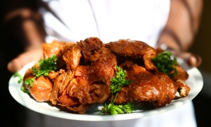 Weng's Kitchen Samrat Restaurant LLC: 20, 30 or 40 Pieces of Fried Chicken at Weng's Kitchen Samrat Restaurant (50% Off)
