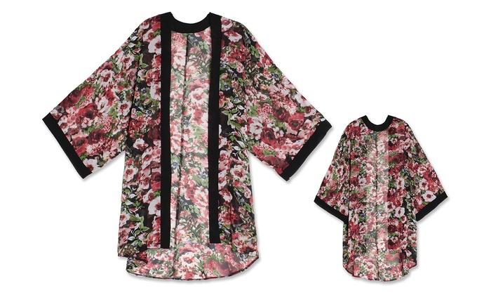 Women's Floral Kimono Robe