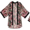 Women's High-end Quality Digital Floral Printed Kimono Robe