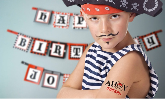 Personalized Temporary Tattoos from StickerYou | Groupon