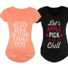Women's Fall Fashion Maternity T-Shirts