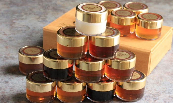 B A Barry DMCC: Four- (AED 199), Eight- (AED 359) or Twelve-Jar (AED 499) Geohoney Box