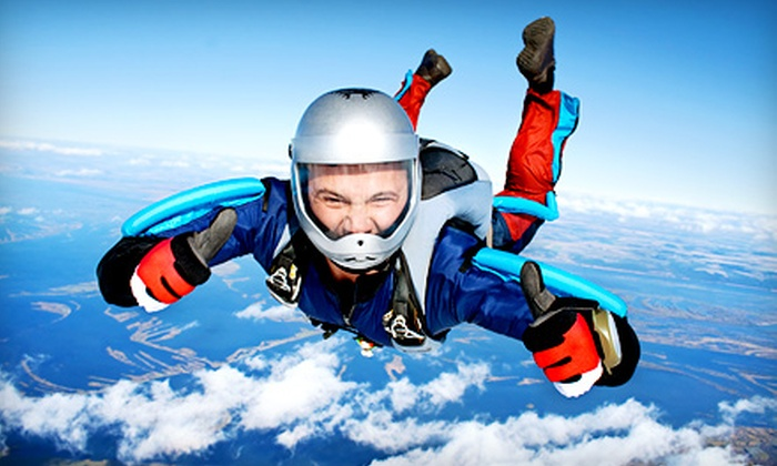 Skydive Monroe - Monroe: $99 for One Solo Skydiving Jump at Skydive Monroe ($165 Value)