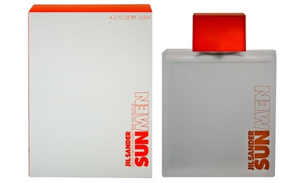 Fragranza maschile Jil Sander Sun Men Eau de Toilette da 125 ml