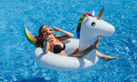 Flotador inflable unicornio