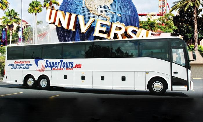 Bus Tours To Disney World From Miami