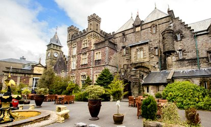 image for Wedding Package for 40 Guests at Craig Y Nos Castle (66% Off)
