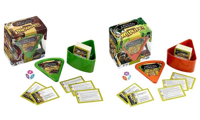 Toys & Hobbies Trivial Pursuit Card Games & Poker Dinosaurs Bite Size