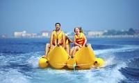 Banana boat o crazy jet por la costa de Mogán para 2, 4 o 6 y banana boat para 8 desde 12,90 € en Es Náutica Motoracer
