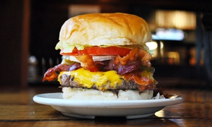 Mike's Pizza and Burgers: Pizza and Burgers at Mike's Pizza and Burgers (Up to 50% Off). Two Options Available.
