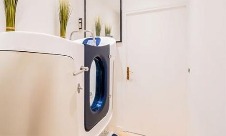 3 séances d'aquabike en cabine individuelle de 45 min pour 1 personne à 49 € chez Beautés du Monde