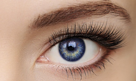 Half Set of Eyelash Extensions at Annalysa's Lashes and Beyond (50% Off)