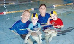 Stanford Swim School: 4 Weeks of Swim Lessons for 1 ($44) or 2 Children ($72) at Stanford Swim School, Multiple Locations (Up to $185 Value)