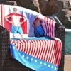 1 or 2 Custom Beach Towels from Winkflash