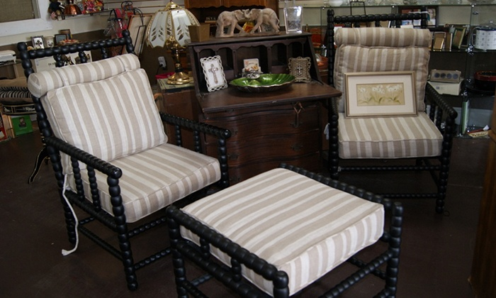 Me and My House - Midlothian: Consignment Furniture and Home Decor at Me and My House (50% Off). Three Options Available.