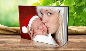 "Custom 8""x8"" or 11""x8"" Photo Book (1-, 2-, or 3-Pack)"