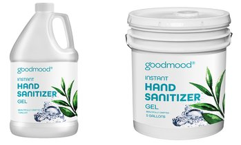 Instant Hand Sanitizer Gel with Aloe Vera. Bulk Gallon Sizes.