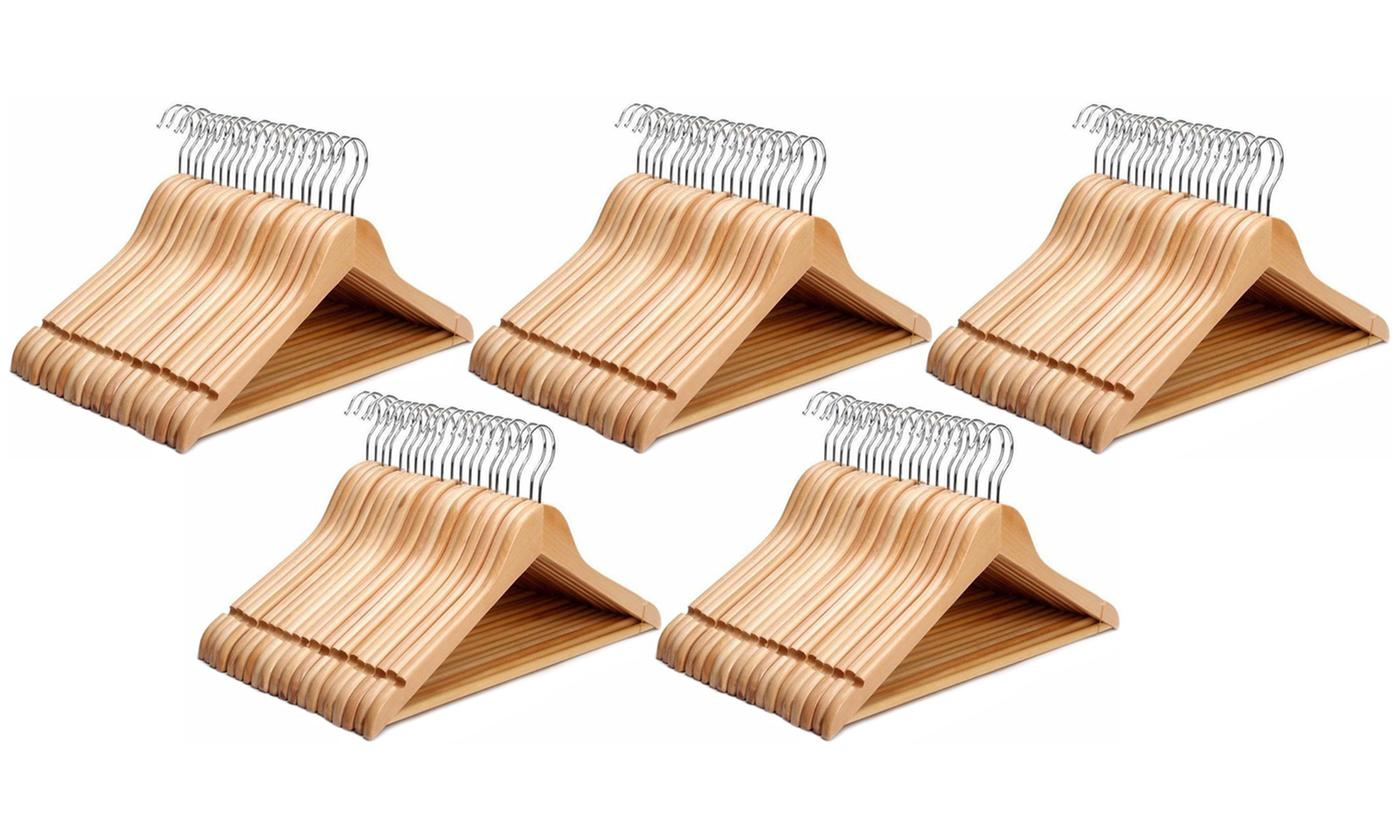 Up to 100 Wooden Hangers for £10
