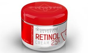 Concentrated Naturals Retinol 2.5% Anti-Aging Cream (2 Fl. Oz.)