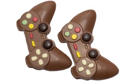 1 of 2 pakjes met 2 chocoladecontrollers van Martins Chocolatier, inclusief verzending