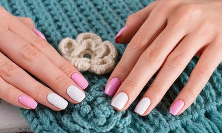 Shellac, Gellish or IPL Manicure with Optional Pedicure at Sunflower Nails