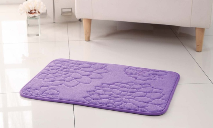 Memory Foam Bath Rug | Groupon Goods