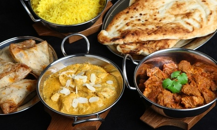 Entrée et plat au choix à la carte pour 2 ou 4 personnes dès 22 € au restaurant Chilli Tandoori