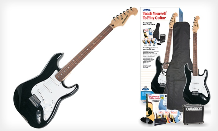 how to teach yourself electric guitar