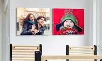 Two 16-in x 20-in Custom Premium Canvas Wraps from Canvas on Demand
