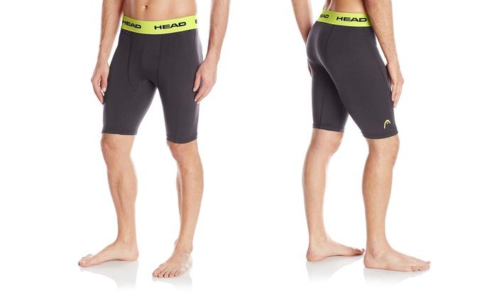 HEAD Men's Compression Shorts