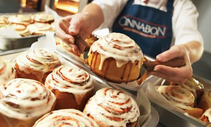 image for Choice of Cinnabon Pack at Cinnabon (Up to 55% Off)