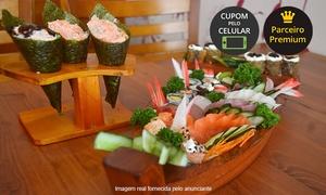 Hajime Sushi: Hajime Sushi – Tucuruvi:rodízio completo com sobremesa no almoço ou jantar para 1 pessoa