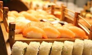 Asia Panda Restaurant: Teppanyaki All-you-can-eat-Buffet inkl. Sushi für 2 oder 4 Personen im Asia Panda Restaurant (bis zu 35% sparen*)