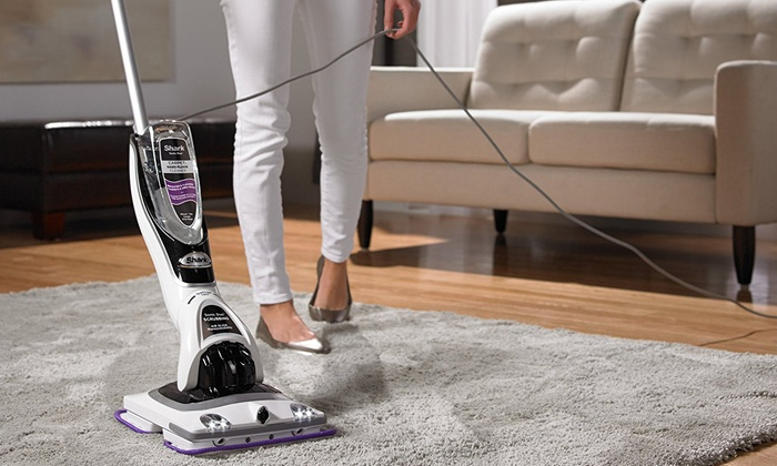 Up To 48 Off On Shark Sonic Duo Floor Cleaner Groupon Goods
