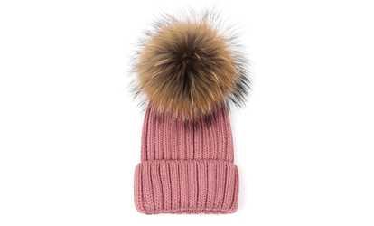 1dc5c01de02 Shop Groupon Women s Faux-Fur Pompom Hat