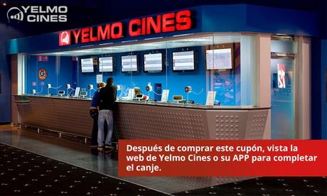 Entrada al cine en Madrid o en cines del resto de la Península con Yelmo Cines