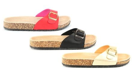 Sandali da donna disponibili in 5 colori e varie misure
