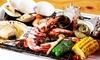海鮮BBQ食べ飲み放題80分/カキの蒸し焼き付