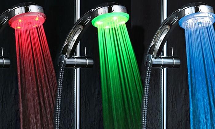 Miscelatore LED doccia